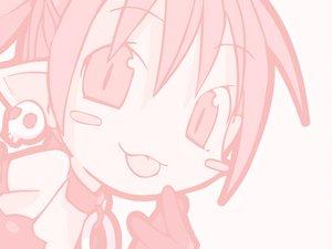 Rating: Safe Score: 12 Tags: chibi demon disgaea etna loli monochrome pointed_ears User: Oyashiro-sama