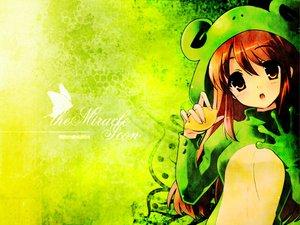 Rating: Safe Score: 40 Tags: animal asahina_mikuru cosplay food frog fruit green suzumiya_haruhi_no_yuutsu User: Oyashiro-sama