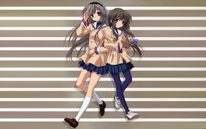 Rating: Safe Score: 18 Tags: clannad ibuki_fuuko sakagami_tomoyo User: modapi