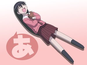 Rating: Safe Score: 20 Tags: azumanga_daioh maya sakaki User: Oyashiro-sama