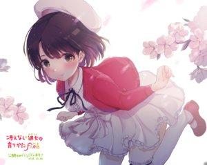 Rating: Safe Score: 54 Tags: cherry_blossoms dress flowers hat katou_megumi ricca saenai_heroine_no_sodatekata short_hair User: BattlequeenYume