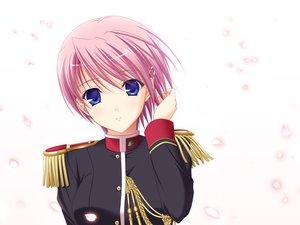 Rating: Safe Score: 51 Tags: game_cg kisaki_mio komori_kei petals ricotta walkure_romanze User: Maboroshi