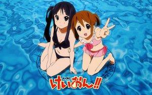 Rating: Safe Score: 59 Tags: akiyama_mio hirasawa_yui k-on! swimsuit User: pantu