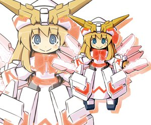 Rating: Safe Score: 34 Tags: blonde_hair blue_eyes fairy garoudo_(kadouhan'i) lily_white mechagirl mobile_suit_gundam parody touhou zoom_layer User: PAIIS