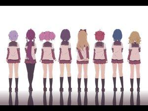 Rating: Safe Score: 94 Tags: akaza_akari blonde_hair blue_hair funami_yui furutani_himawari ikeda_chitose long_hair oomuro_sakurako pantyhose pink_hair ponytail purple_hair red_hair school_uniform short_hair sugiura_ayano toshinou_kyouko yoshikawa_chinatsu yuru_yuri User: SciFi