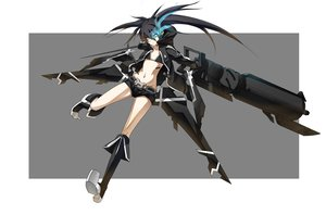 Rating: Safe Score: 65 Tags: black_rock_shooter kuroi_mato User: HawthorneKitty