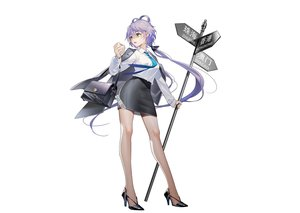 Rating: Safe Score: 57 Tags: cape food green_eyes long_hair luo_tianyi purple_hair shirt skirt suit tidsean tie twintails vocaloid vocaloid_china white User: otaku_emmy
