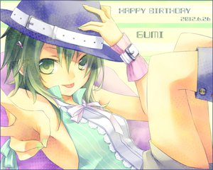 Rating: Safe Score: 61 Tags: gumi hat kuroi_(liar-player) vocaloid User: MissBMoon