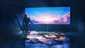 Rating: Safe Score: 67 Tags: arknights building city clouds landscape lifeline polychromatic ruins scenic skadi_(arknights) sky sunset sword weapon User: BattlequeenYume