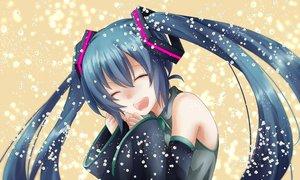 Rating: Safe Score: 44 Tags: close hatsune_miku long_hair twintails vocaloid waifu2x User: luckyluna