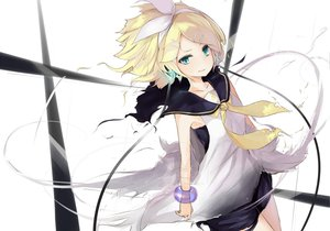 Rating: Safe Score: 85 Tags: blonde_hair bow kagamine_rin ringo_(kojiki-life) vocaloid User: HawthorneKitty
