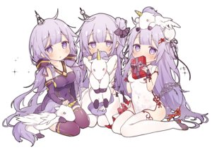 Rating: Safe Score: 38 Tags: aliasing anthropomorphism azur_lane chinese_clothes chinese_dress hms_unicorn_(azur_lane) long_hair purple_eyes purple_hair thighhighs tsuka twintails vocaloid vocaloid_china white xingchen User: BattlequeenYume