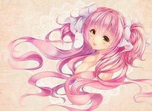 Rating: Questionable Score: 99 Tags: breasts kaname_madoka long_hair mahou_shoujo_madoka_magica paintmusume pink_hair tagme ultimate_madoka yellow_eyes User: luckyluna