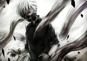 Rating: Safe Score: 89 Tags: all_male chain hukkyunzzz kaneki_ken male mask red_eyes shackles short_hair tokyo_ghoul white_hair wristwear User: Flandre93