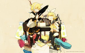 Rating: Safe Score: 17 Tags: cake food glider_(artist) instrument jpeg_artifacts kagamine_len kagamine_rin microphone piano vocaloid User: PAIIS