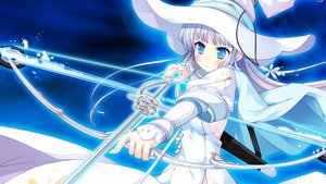 Rating: Safe Score: 84 Tags: bow_(weapon) game_cg ko~cha weapon witch's_garden yukimura_suzuno User: Maboroshi