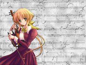 Rating: Safe Score: 18 Tags: blonde_hair carnelian instrument violin yellow_eyes User: WhiteExecutor