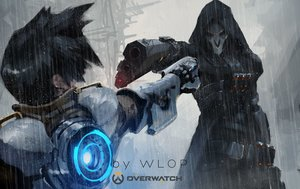 Rating: Safe Score: 174 Tags: logo male overwatch reaper_(overwatch) tracer watermark wlop User: luckyluna