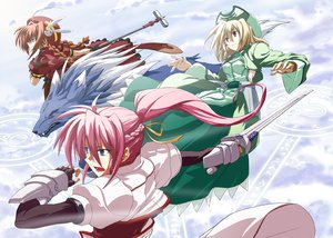 Rating: Safe Score: 15 Tags: mahou_shoujo_lyrical_nanoha mahou_shoujo_lyrical_nanoha_a's mahou_shoujo_lyrical_nanoha_strikers shamal signum vita zafira User: HawthorneKitty