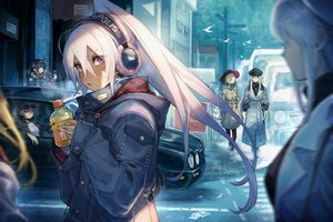 Rating: Safe Score: 81 Tags: animal anthropomorphism azur_lane bird bismarck_(azur_lane) black_hair blonde_hair brown_hair building car cleveland_(azur_lane) dark_skin drink enterprise_(azur_lane) group hat headphones hood_(azur_lane) jean_bart_(azur_lane) long_hair mephist-pheles minneapolis_(azur_lane) ning_hai_(azur_lane) paper ping_hai_(azur_lane) ponytail red_eyes sunglasses tagme_(character) twintails white_hair wink User: BattlequeenYume