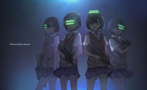 Rating: Safe Score: 54 Tags: brown_eyes brown_hair goggles misaka_imouto school_uniform short_hair skirt to_aru_kagaku_no_railgun to_aru_majutsu_no_index waifu2x weapon xiao_qiang_(overseas) User: RyuZU