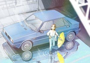 Rating: Safe Score: 24 Tags: car jetbrick original rain rainbow reflection signed umbrella water User: RyuZU