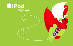 Rating: Safe Score: 28 Tags: green inuyasha ipod silhouette User: anaraquelk2