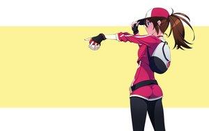 Rating: Safe Score: 182 Tags: ass blue_eyes brown_hair female_protagonist_(pokemon_go) hat murakami_suigun pokemon ponytail third-party_edit User: mattiasc02
