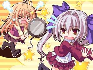 Rating: Safe Score: 25 Tags: game_cg itsuki_kirara meri_chri mikagami_mamizu ribbons seiya_mashiro whirlpool User: 秀悟