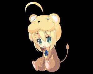 Rating: Safe Score: 201 Tags: black chibi fate/stay_night saber User: acucar11
