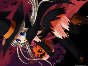 Rating: Safe Score: 109 Tags: blue_eyes fang halloween little_busters! loli long_hair na-ga noumi_kudryavka pumpkin tagme white_hair witch User: Zolxys