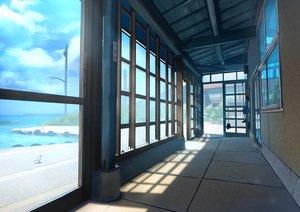Rating: Safe Score: 40 Tags: animal bird clouds nobody original sakeharasu scenic sky water User: RyuZU