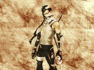 Rating: Safe Score: 14 Tags: all_male black_hair headband male mask momochi_zabuza naruto sword tattoo weapon User: Oyashiro-sama