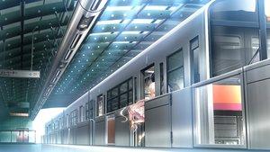 Rating: Safe Score: 31 Tags: chrono_clock dress game_cg koku kuro_(chrono_clock) long_hair purple_software train User: Kiho