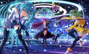 Rating: Safe Score: 164 Tags: aqua_eyes aqua_hair blonde_hair blush elbow_gloves gloves green_eyes green_hair guitar gumi hatsune_miku instrument kagamine_rin kazeno long_hair megurine_luka pink_hair short_hair thighhighs twintails vocaloid User: SciFi