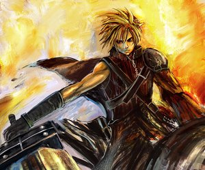 Rating: Safe Score: 15 Tags: cloud_strife final_fantasy final_fantasy_vii final_fantasy_vii_advent_children User: HawthorneKitty
