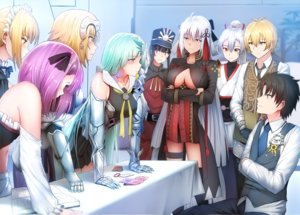 Rating: Questionable Score: 52 Tags: aqua_hair armor billy_the_kid_(fate/grand_order) black_hair blonde_hair book breasts brynhildr_(fate/grand_order) condom dress elbow_gloves fate/grand_order fate_(series) fujimaru_ritsuka_(male) garter ginhaha gloves group hat headdress headphones helena_blavatsky_(fate) japanese_clothes jeanne_d'arc_(fate) long_hair maid male nobukatsu_oda_(fate) parody pink_eyes ponytail purple_eyes purple_hair red_eyes saber saber_alter sakura_saber sakura_saber_alter short_hair skirt thighhighs tie tomoe_gozen white_hair yellow_eyes User: RyuZU