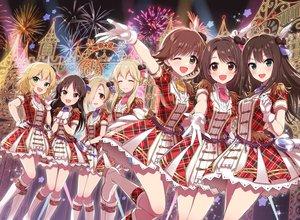 Rating: Safe Score: 75 Tags: blonde_hair boots brown_eyes brown_hair clarice_(idolmaster) dress fireworks gloves green_eyes honda_mio idolmaster idolmaster_cinderella_girls long_hair morikura_en sakurai_momoka shibuya_rin shimamura_uzuki shirasaka_koume short_hair tachibana_arisu wink User: RyuZU