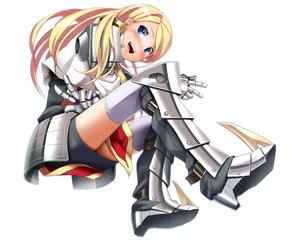 Rating: Safe Score: 127 Tags: armor blonde_hair blue_eyes blush boots eto gloves long_hair sekaiju_no_meikyuu tagme_(character) white User: Wiresetc