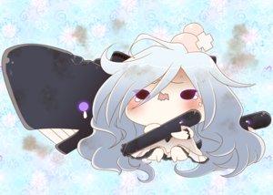 Rating: Safe Score: 26 Tags: anthropomorphism blush chibi dress kantai_collection long_hair submarine_hime tears weapon yumaru_(marumarumaru) User: mattiasc02