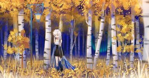Rating: Safe Score: 32 Tags: autumn dress forest ji_dao_ji original tree User: Fepple