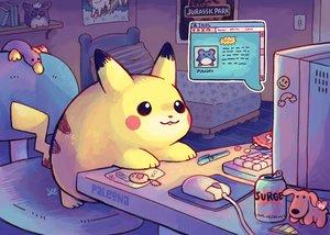 Rating: Safe Score: 35 Tags: bed book candy computer drink marill nobody paleona pikachu pokemon waifu2x watermark User: BattlequeenYume