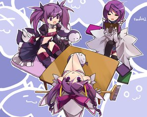 Rating: Safe Score: 68 Tags: aisha_(elsword) book elsword purple_eyes purple_hair User: Chihiru