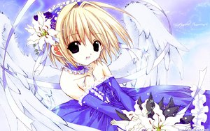 Rating: Safe Score: 6 Tags: nanase_aoi tagme wings User: Oyashiro-sama