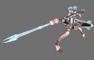 Rating: Safe Score: 45 Tags: blangonga gray monster_hunter sword vane weapon User: lost91colors