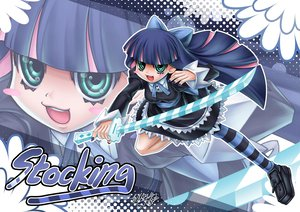Rating: Safe Score: 42 Tags: panty_&_stocking_with_garterbelt stocking_(character) User: HawthorneKitty