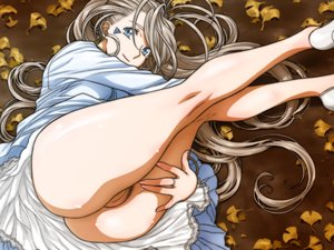 Rating: Explicit Score: 134 Tags: aa_megami-sama belldandy blue_eyes brown_hair dress joy_division leaves long_hair pubic_hair pussy uncensored User: FormX