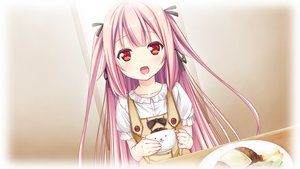 Rating: Safe Score: 76 Tags: game_cg giga harvest_overray loli nironiro pink_hair red_eyes User: Maboroshi