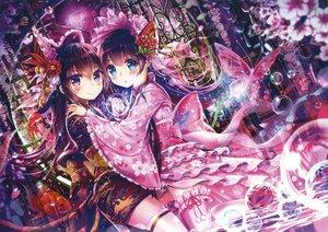 Rating: Safe Score: 36 Tags: 2girls akabane_(zebrasmise) japanese_clothes lolita_fashion scan User: luckyluna