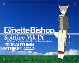 Rating: Safe Score: 13 Tags: lynette_bishop mechagirl strike_witches User: Oyashiro-sama